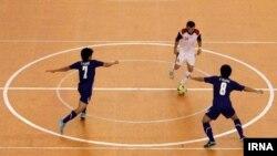 Iran--Iran futsal vs Spain