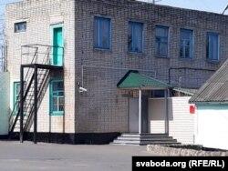 Кантрольна-прапускны пункт калёніі ў Горках