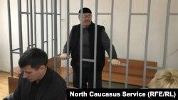 На слушании в суде в Грозном 19 марта 2018 года