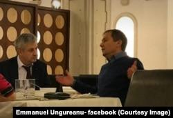 Daniel Morar, judecător CCR, și Florin Iordache, șeful comisiei care a modificat legile justiției, contestate la CCR