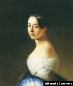 İvan Turgenevin bütün həyatı boyu yasaq eşq yaşadığı Polina Viardo.