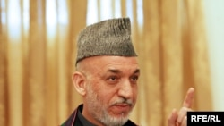 "Afghan President Hamid Karzai: ""Where we have found facts on corrupt practices by senior government officials, we have acted..."""