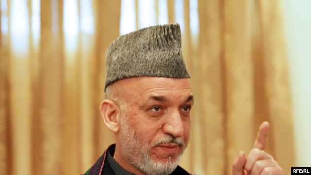 Afghan President Hamid Karzai pledged in his inaugural speech to name competent and honest ministers.