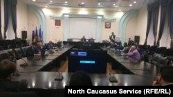 """Участники """"Игр журналистов"""" в Махачкале, Дагестан"""