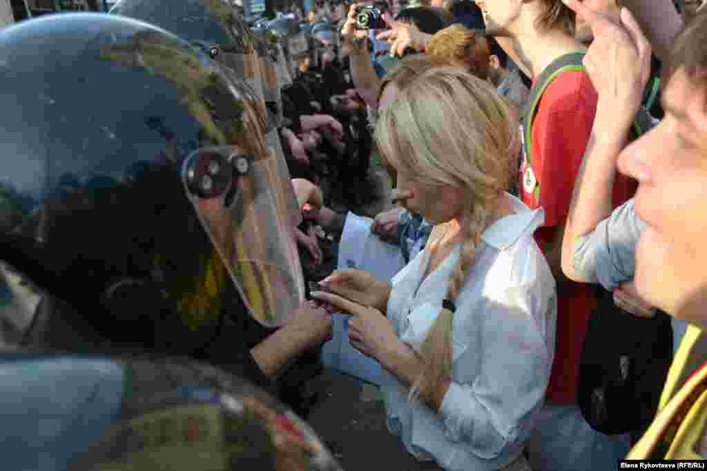 Москва, Манежная, 18 июля 2013