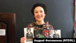 Галина Козловская, со снимками 1977 и 2018 гг.