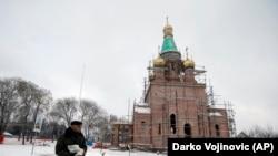 """Izgradnja crkve """"Blage Marije"""" u ruskom stilu, površine oko 240 m2, počela je 2017. godine"""