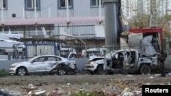 Диярбакырдағы террорлық жарылыс болған жер. Түркия, 31 наурыз 2016 жыл.