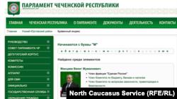 """На странице с фамилиями на букву """"М"""" уже нет Магомаева"""