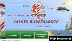 Webfaqja e shërbimit të kufijve të Letonisë.