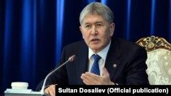 Қырғызстанның бұрынғы президенті Алмазбек Атамбаев.