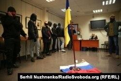 Акція праворадикалів у приміщенні «Росспівробітництва» на Подолі