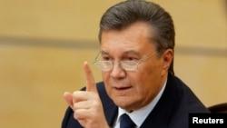 ویکتور یانوکوویچ رییس جمهوری مخلوع اوکراین به اختلاس از اموال دولتی متهم شده است.