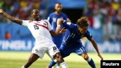 Բրազիլիա - Դրվագ աշխարհի առաջնության Իտալիա - Կոստա Ռիկա խաղից, 20-ը հունիսի, 2014թ.