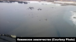 Затопленная Кежма