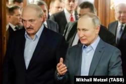 Зустріч Путіна і Лукашенка у Сочі. Росія, 14 вересня 2020 року
