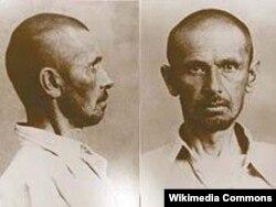 Евгений Поливановдун камакка алынгандан кийинки сүрөтү.