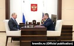Уладзімір Пуцін і Міхаіл Бабіч, 24 жніўня