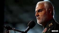 Iranian General Qasem Soleimani (file photo)