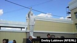 Rusiya, Mary-El, yeni açılmış Stalin heykəli