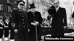 Иосиф Броз Тито, Уинстон Черчил, Энтони Эден, Лондон, 1950-жыл