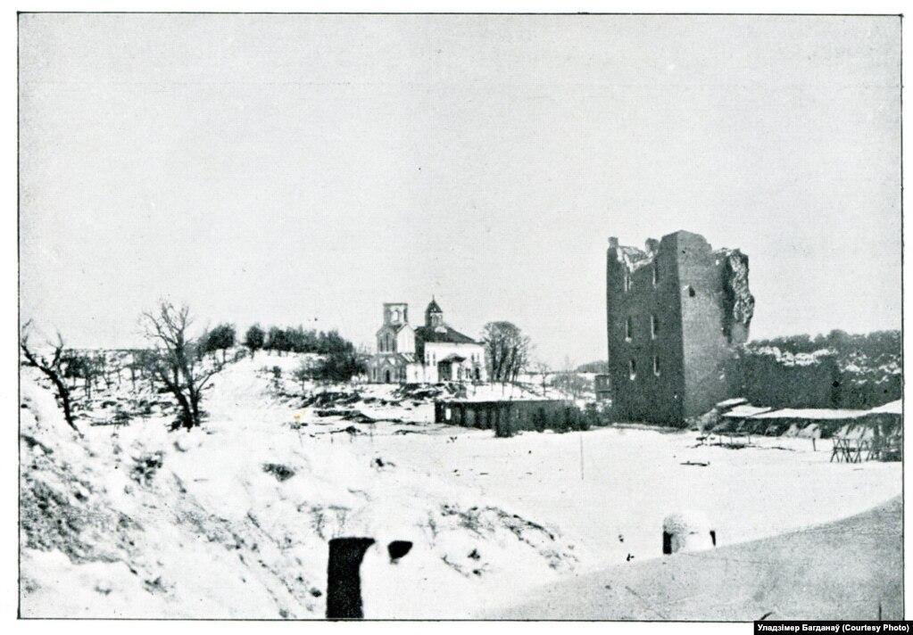 Немцы ў якасьці сховішча выбралі Крэўскі замак