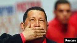 Hugo Chavez, foto nga arkivi