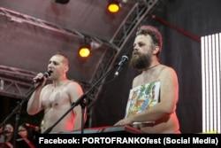 «Хамерман знищує віруси» на фестивале Porto Franko