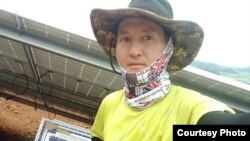 Оңтүстік Кореяның Пусан қаласында тұратын қазақстандық Оразхан Нұрмахан. (Сурет Оразханның рұқсатымен жарияланып отыр)