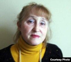 Ақын, прозаик Надежда Чернова. Сурет жеке архивінен алынды.