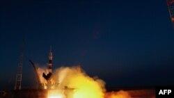 Pamje nga një lasim i mëparshëm i raketave ruse