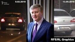 Журналіст програми «Схеми» Михайло Ткач подав заяву в Національну поліцію через систематичне стеження охороною олігарха Ріната Ахметова (на фото)