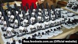 Оптичні мікроскопи «Юнат – 2П3», виготовлені Феодосійським оптичним заводом