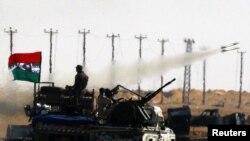 Forcat kryengritëse në Axhdabia.