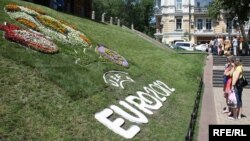 Logo od cvijeća za EURO 2012