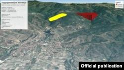Графички приказ на рудникот Иловица-Штука.