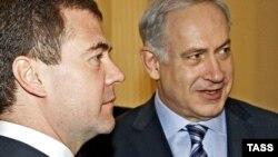 Позиции Медведева и Нетаньяху ближе, чем год назад, полагают эксперты.
