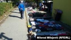 Sve na prodaju: Buvljak ispred Velike tržnice