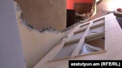 Պետրոսյանների՝ «Գազպրոմ Արմենիա»-ի գազատարի պայթյունից ավերված տունը