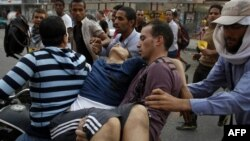 Приврзаници на соборениот претседател Мохамед Морси.