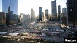Локацијата на поранешниот Светски трговски центар во Њујорк