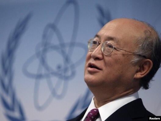 يوکيو آمانو، مديرکل آژانس بين المللی انرژی اتمی