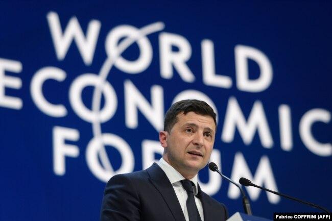 Через п'ять днів після провалу створення Бюро фінансових розслідувань Володимир Зеленський у Давосі все ще обіцяв, що «ми наближаємось до його запуску»
