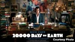 """Ник Кейн в своем киновоплощении. Постер фильма """"20 тысяч дней на Земле"""""""