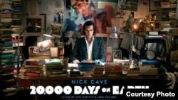 Ник Кејв, 20.000 дена на Земјата, постер за филмот.
