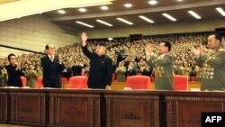Северокорейские чиновники. Иллюстративное фото.