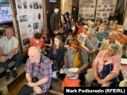 Участники томского Форума потомков спецпереселенцев