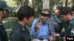 دستگیری یک معتاد در جنوب شهر تهران