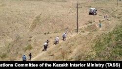Әскери қоймадағы жарылысқа байланысты Арыс қаласын тастап шыққан тұрғындар. Түркістан облысы, 24 маусым 2019 жыл.