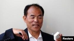 Нобел мукофотига сазовор бўлган олимлардан бири Сюдзи Нахамура.